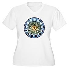 Moon Phases Mandala T-Shirt