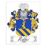Maffei Family Crest Small Poster