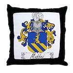 Maffei Family Crest Throw Pillow