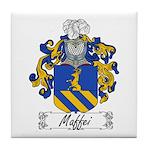 Maffei Family Crest Tile Coaster