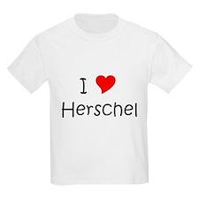 Cute I love herschel T-Shirt