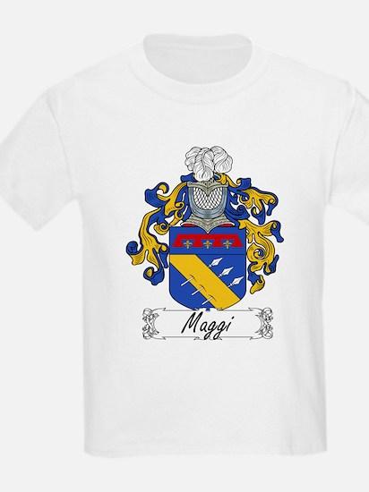 Maggi Family Crest Kids T-Shirt