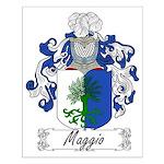 Maggio Family Crest Small Poster