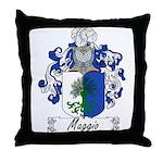 Maggio Family Crest Throw Pillow