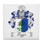 Maggio Family Crest Tile Coaster