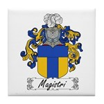 Magistri Family Crest Tile Coaster
