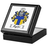 Magistri Family Crest Keepsake Box