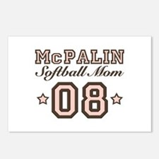 McPalin Softball Mom Postcards (Package of 8)