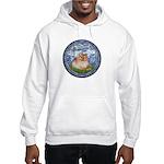 Lilies #6/Pomeranian #4 Hooded Sweatshirt