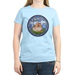 Lilies #6/Pomeranian #4 Women's Light T-Shirt