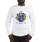 Magnano Family Crest Long Sleeve T-Shirt