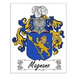 Magnano Family Crest Small Poster