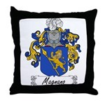 Magnano Family Crest Throw Pillow