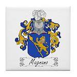 Magnano Family Crest Tile Coaster