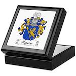Magnano Family Crest Keepsake Box