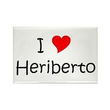 Heriberto Rectangle Magnet