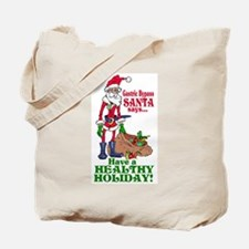Gastric Bypass Santa Tote Bag