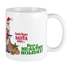 Gastric Bypass Santa Mug