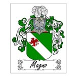 Magno Family Crest Small Poster