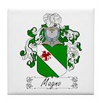 Magno Family Crest Tile Coaster