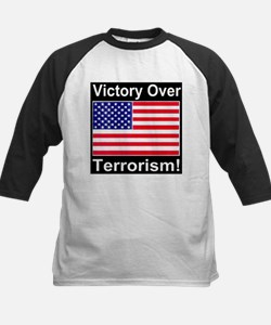 Victory Over Terrorism American Flag Edition Tee