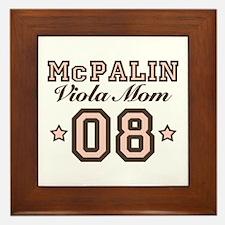 McPalin Viola Mom Framed Tile