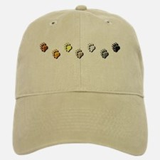BEAR PRIDE PAWS/HORIZONTAL/2 Baseball Baseball Cap