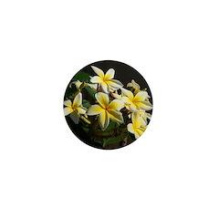 Aloha Flowers Mini Button