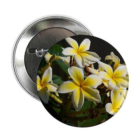 "Aloha Flowers 2.25"" Button (10 pack)"