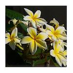 Aloha Flowers Tile Coaster