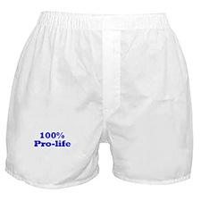 Pro-Life Boxer Shorts