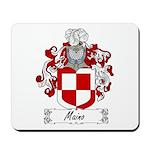 Maino Family Crest Mousepad