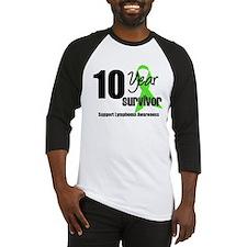 10YrLymphomaSurvivor Baseball Jersey