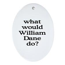 William Dane Oval Ornament