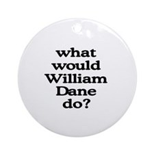 William Dane Ornament (Round)