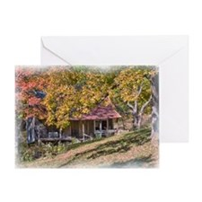 Rustic Ozark Home Greeting Card