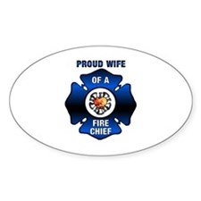 Fire Chiefs Wife Decal