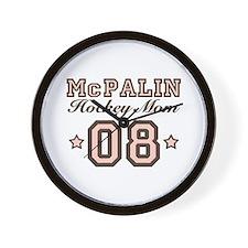 McPalin Hockey Mom Wall Clock
