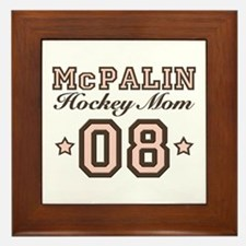McPalin Hockey Mom Framed Tile