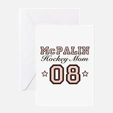 McPalin Hockey Mom Greeting Card