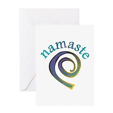 Namaste, Sanskrit Greeting of Honor Greeting Card