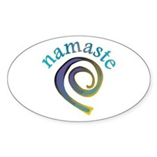 Namaste, Sanskrit Greeting of Honor Decal