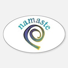 Namaste, Sanskrit Greeting of Honor Decal