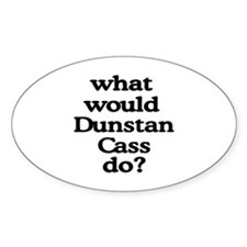 Dunstan Cass Oval Decal