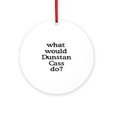 Dunstan Cass Ornament (Round)