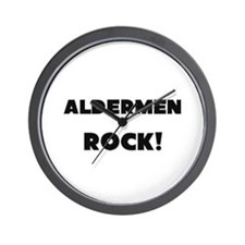 Aldermen ROCK Wall Clock
