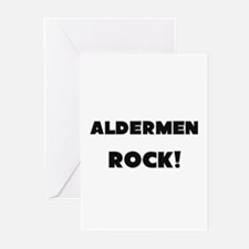 Aldermen ROCK Greeting Cards (Pk of 10)