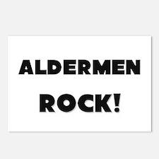 Aldermen ROCK Postcards (Package of 8)