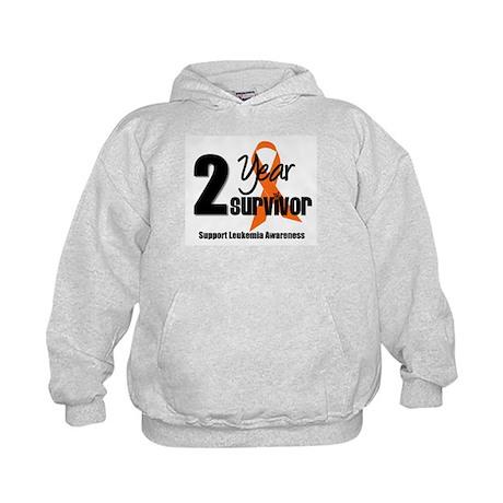 2Year-LeukemiaSurvivor Kids Hoodie