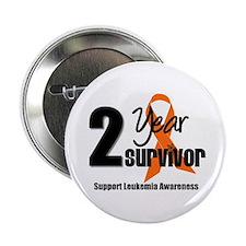 """2Year-LeukemiaSurvivor 2.25"""" Button"""